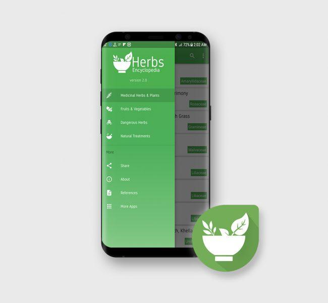 E-STEPS | Herbs Encyclopedia app