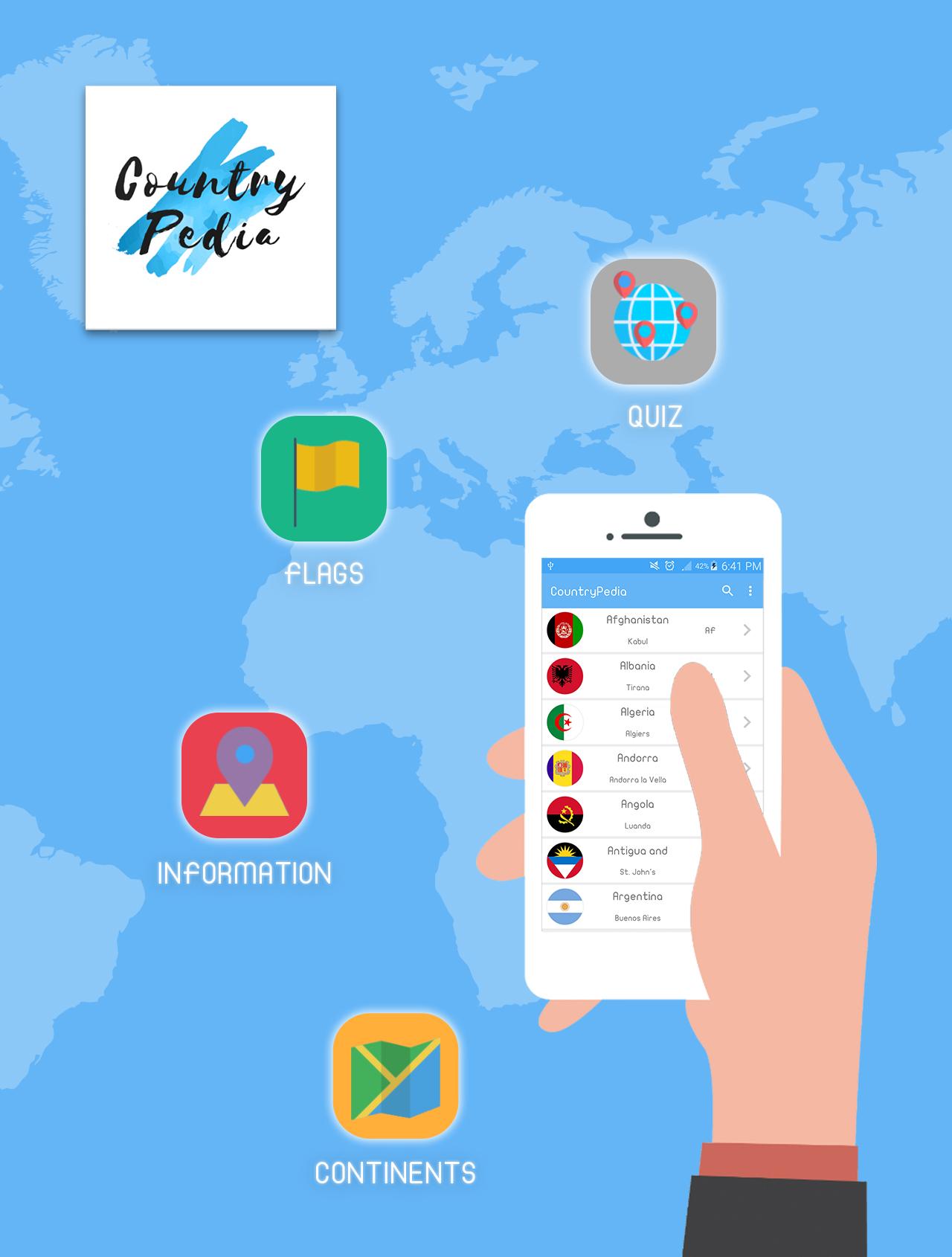 E-STEPS | CountryPedia App