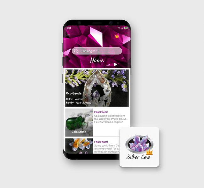 E-STEPS | Crystal Encyclopedia App